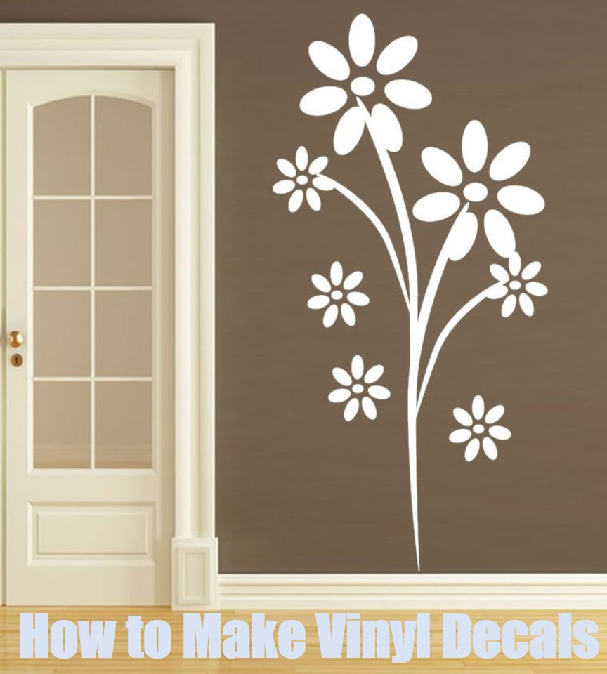 How to Make Vinyl Decals at Home